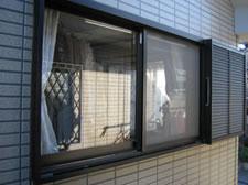 網戸・面格子施工前