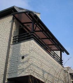 バルコニー屋根 エクステリア工事