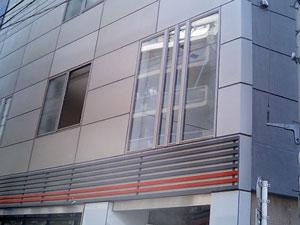 2階サッシの拡大画像
