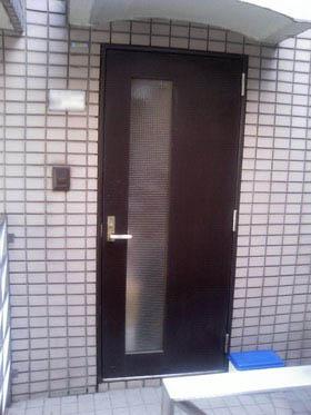 玄関ドアリフォーム前