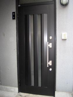 玄関ドア交換リフォーム後