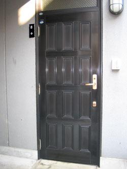 玄関ドア交換リフォーム前