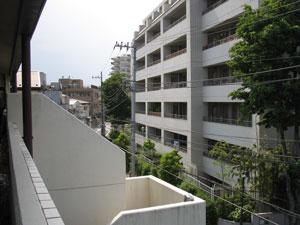 階段屋根施工前2