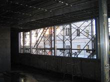 Kビルガラスブロック施工前2