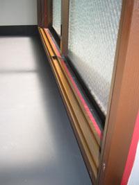 INダンススクール防音二重窓施工後2
