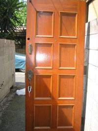 SA様邸玄関ドア交換前