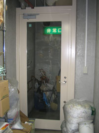 K社防犯用ドア施工後