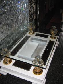 ST様店舗テーブルガラス修理後2