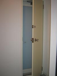 OK様邸防犯用二重ドア施工後