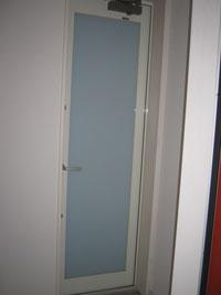 OK様邸防犯用二重ドア施工前