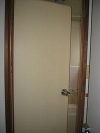MYアパート浴室ドア交換前
