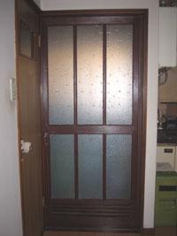 Mm様邸浴室ドア交換前