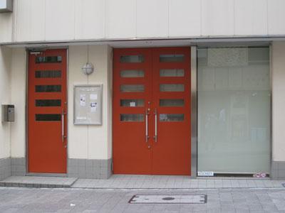 ギャラリーA新築工事エントランス
