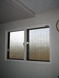 SW様邸防音二重窓プラマードU施工後2