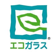 エコガラスのロゴ