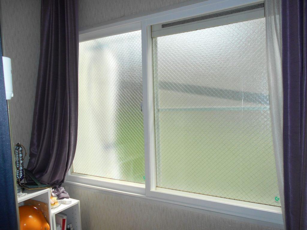TG様邸内窓インプラス強化ガラスアフター