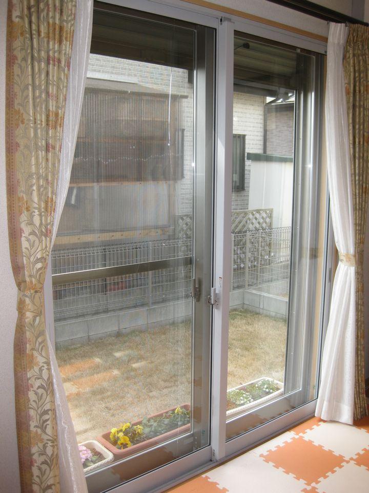SS様邸断熱内窓インプラス引違い窓施工後